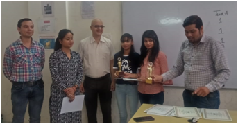 Prize Distribution Held  for Encouraging Class Participation