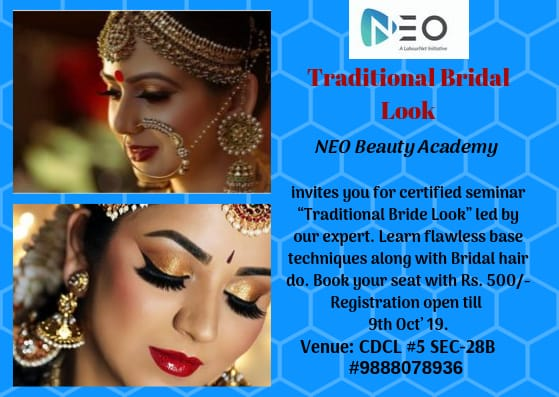 "Seminar on ""Traditional Bride Look"""